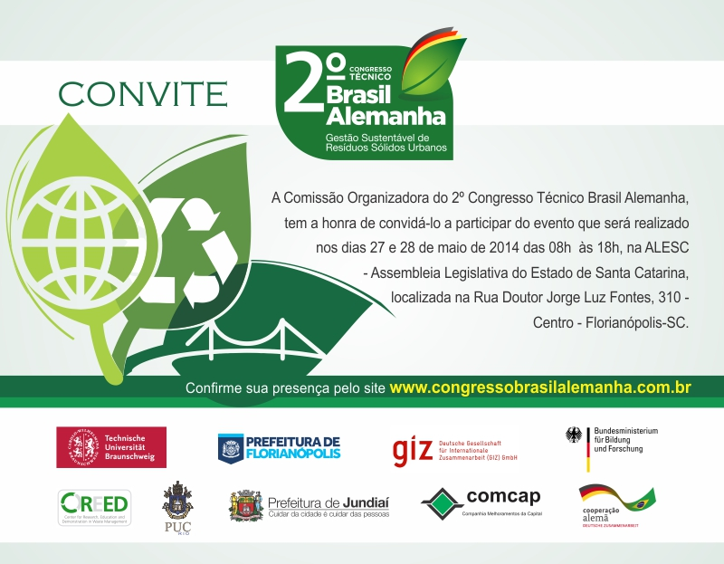 2. brasilianisch-deutscher Abfallwirtschaftskongress - Programm